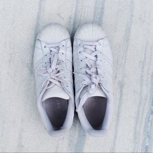 Adidas White Classic Sneakers